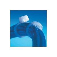 Bezpečnostní stahovací UV pásky ABB SF 175-50X-100, 201 x 4,7 mm, černá, 100 ks