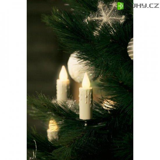 Vnitřní bezdrátové osvětlení vánočního stromku Konstsmide, 5 LED - Kliknutím na obrázek zavřete