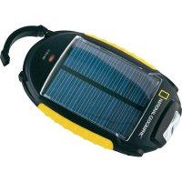 Solární nabíječka se svítilnou National Geographic 4 v 1, Li-Ion 2000 mAh