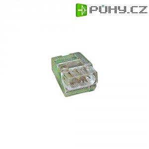 Svorka Wago, 273-453, 1,5 - 4 mm², 3pólová, transparentní