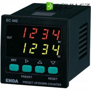 Vzestupný/sestupný čítač impulsů ENDA EC442-230 VAC LED