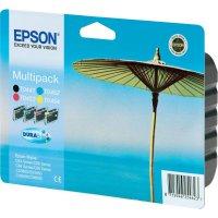 Cartridge Epson T0445, C13T04454010, žlutá/cyan/magenta/černá
