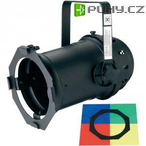 Halogenový reflektor Eurolite PAR 56 Long, 42000761, 1000 W, bílá + 4 ks barevných filtrů