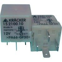 Automobilové relé Kräcker 15.2100.10, 12 V, 15 A, řídící jednotky magn. Spojky