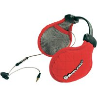Headset Midland SubZero, s chráničem uší, červený