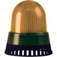 Bzučák s LED Werma 420.110.68, 101 x 89 mm, 230 V/AC, IP65, červená