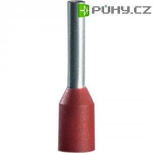 Dutinky s plastovým límcem Vogt Verbindungstechnik 470308, 1 mm², 8 mm, červená, 100 ks