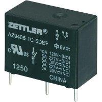Miniaturní zátěžové relé AZ9405, 10 A 9 V/DC 10 A Zettler Electronics AZ9405-1C-9DEF