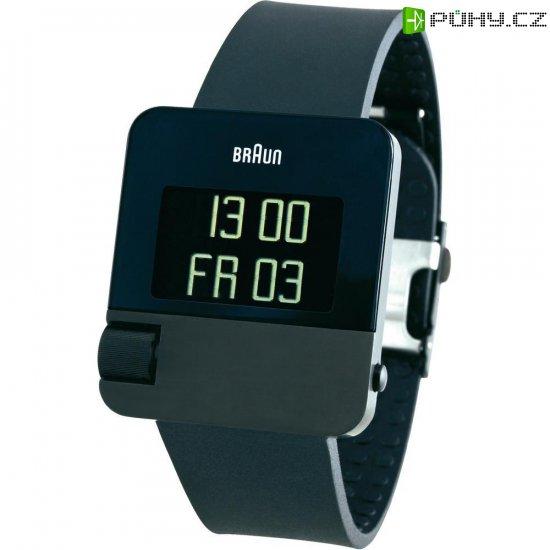 Digitální náramkové hodinky Braun Prestige, gumový pásek, černá - Kliknutím na obrázek zavřete