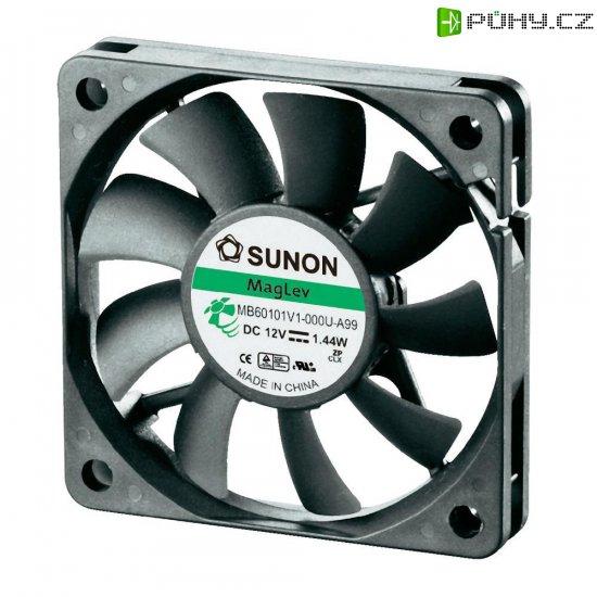 Ventilátor Sunon DR MB60101V1-0000-A99, 60 x 60 x 10 mm, 12 V/DC - Kliknutím na obrázek zavřete