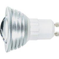 LED žárovka, GU10, 3 W, 230 V, 67 mm, teplá bílá