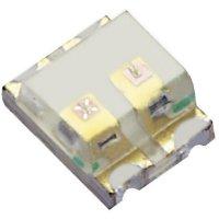 SMD LED Kingbright, KPTB-1612QBDSEKC, 20 mA, 3,3 V, 120 °, 80 mcd, modrá/oranžová