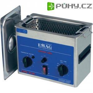 Ultrazvuková čistička Emag EMMI 20HC, 2 l, 150 W, 230 x 115 x 75 mm, nerez