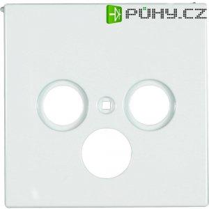 Kryt pro anténní zásuvky Jung, LS 990 SAT WW, rádio/TV/SAT, bílá