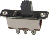 Přepínač posuvný KBB70-2P2W ON-ON 2pol.250V/3A
