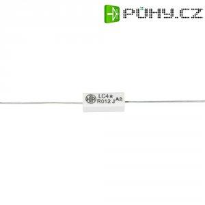 Rezistor, 0,022 Ω, 5 %, axiální vývody, 4 W, 5 %