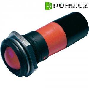 LED signálka CML 195E1230M, IP67, 22 mm, 230 V/AC, červená