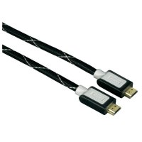 HDMI kabel Hama High Speed, HDMI zástrčka, 1,5 m, černý