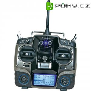 RC souprava palcová Graupner MX-20 HoTT, 2,4 GHz, 12 kanálů