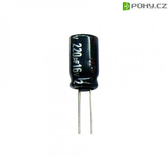 Kondenzátor elektrolytický Panasonic ECA1HHG100I, 10 µF, 50 V, 20 %, 11 x 5 mm - Kliknutím na obrázek zavřete