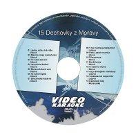 Karaoke DVD DECHOVKY Z MORAVY