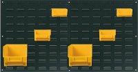 Držák stohovacích beden kovový , rozměry 1045x500x15mm