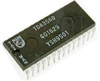 TDA3560 - dekodér PAL, DIL28
