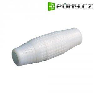 Spojka koaxiálního kabelu, 801301, 7,2 mm, plastová