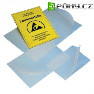 ESD laminovací fólie A4 BJZ C-199 2751, 304 mm x 217 mm, transparentní