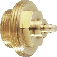 Mosazný adaptér termostatu Gampper 700 100 012-2 vhodný pro topné těleso Gamper, M20 do hloubky více jak 10 mm