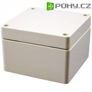 Plastové pouzdro IP66 Hammond Electronics, (d x š x v) 160 x 90 x 90 mm, šedá
