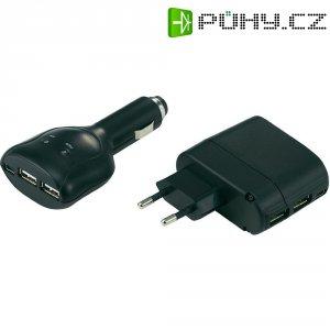 Sada USB nabíječek Voltcraft USB Power Set 2