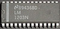 LM1203N - videozesilovač RGB, DIL28
