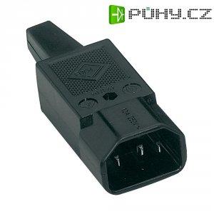 Síťová IEC zástrčka C14 K+B, 250 V, 10 A, 42R041311