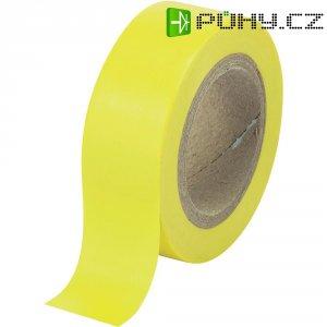 Izolační páska SW12-013YL, 93014c600, 19 mm x 10 m, žlutá