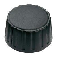 Otočný knoflík Mentor 4334.6000, 6 mm, matně černá