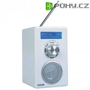 DAB+ rádio Sailor SA-255, FM, bílá