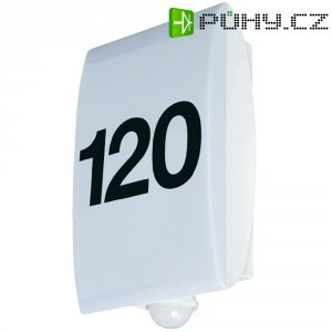 Venkovní nástěnné LED svítidlo s detektorem pohybu GEV, 60 W, bílá