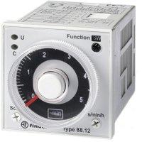 Multifunkční časové relé Finder 88.12.0.230.0002, 400 V/AC (AC1) , 1250 VA