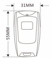 Dálkový ovládač ZY68-1 433MHz 1 kanálový