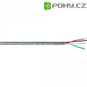 Stíněný audio kabel Belden, 8723, 2 x 2 x 0,32 mm², chrom (m)