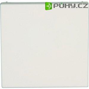 Zásuvka s krytkou Jung, LS 520 KL WW, bílá, schuko