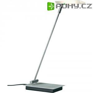 Stolní LED lampa Paulmann Slice LED Satin, 70244, 4,3 W, saténová, teplá bílá