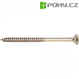 Šroub do dřeva 4.0 mm 25 mm ocel 200 ks 839522