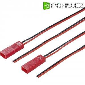 Napájecí kabel Modelcraft, BEC zástrčka, 0,5 mm², 1 pár