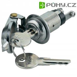 Klíčový spínač SCI K3-16A2-06, 1x vyp/zap, 250 V/AC