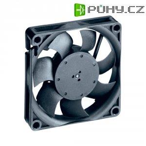Axiální ventilátor EBM Papst 712 F, 12 V, 38 dBA, 70 x 70 x 15 mm