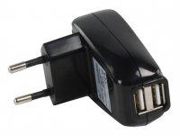 Nabíječka do zásuvky USB HQ P.SUP.USB402 dvojitá
