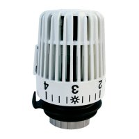Termostatická hlavice Debu Sourcing DS2002030, M30 x 1.5, bílá