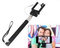 Držák - teleskopická tyč 20-100cm pro focení selfie